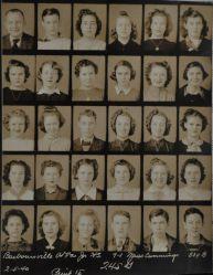 1940 Jr. High class of Barboursville, West Virginia