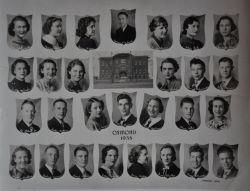 1938 HS class in Osmond, Nebraska
