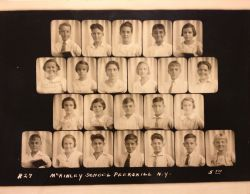 Fifth grade class of McKinley School in Peekskill, NY 1934