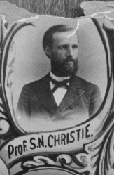 Professor S. N. Christie, 1888 Eastman Business College