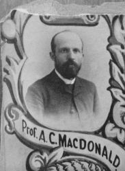 Prof. A. C. MacDonald, 1888 Eastman Business College
