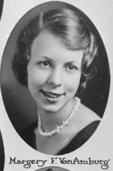 Margery VanAmburg, 1931, Plymouth High School