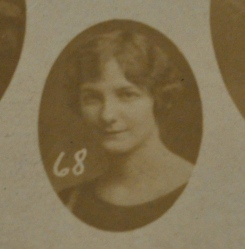 Magdalene Weinman, Westbrook Commercial Academy, 1924-25