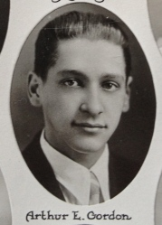 Arthur E. Gordon, 1931 Plymouth High School