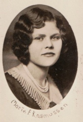 Marie F. Rasmussen, age 17