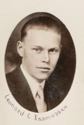 Leonard L. Rasmussen, age 18