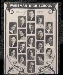 Wakeman High School 1932