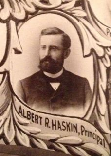 Albert R. Haskin, Principal of the Eastman Business College