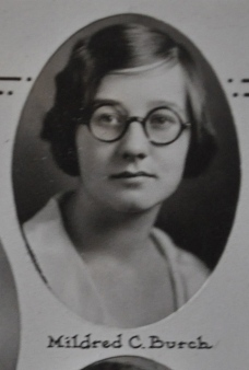 Mildred C. Burch, 1931 Plymouth High School