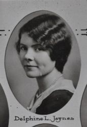 Delphine L. Jaynes, 1931 Plymouth High School