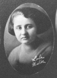 Lola Miller, 1923 Liberty Union High School, Liberty, Ohio
