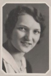 Julia Mikloda, 1932 class of Wakeman HS in Huron County, OH