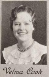 Velma Cook, 1934