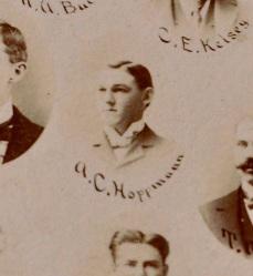A. C. Hoppmann, Law Student