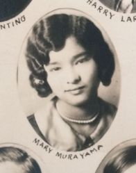 1930 High School Class Photo, Mary Murayama
