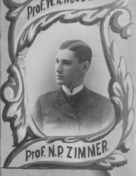 Prof N. P. Zimmer. 1888 Eastman Business School