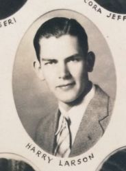 Harry Larson, Auburn High School 1930
