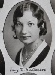 Amy Blackmore, 1931 Plymouth, MI