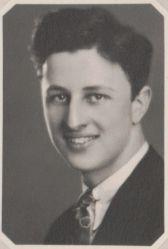 Norbert Hahn, 1932 graduate of Wakeman High School