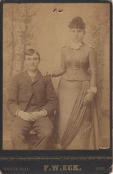 William & Minnie Gulledge of Arkansas